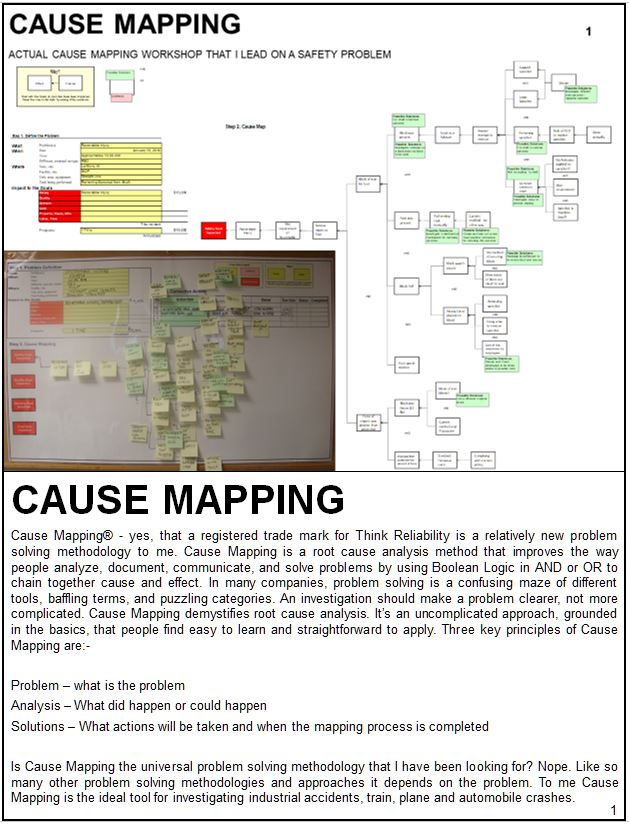 Cause Mapping Training